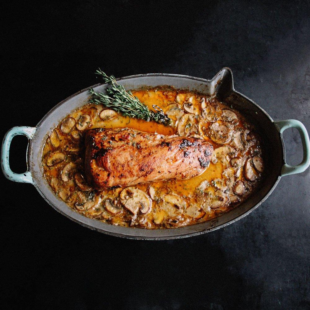 Pork Tenderloin roasted