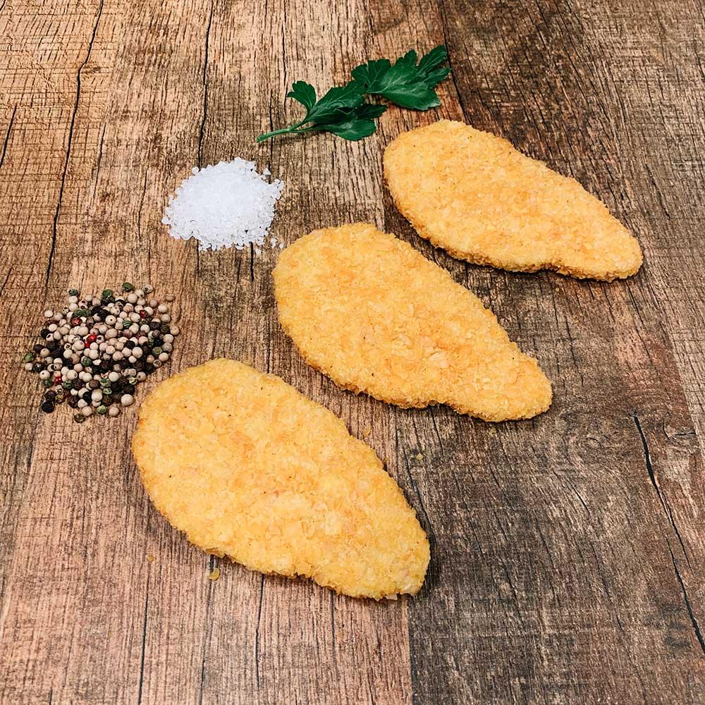 Chicken Schnitzels Crispy Flakes