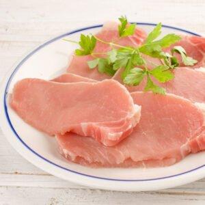 lean Pork Loin Steaks