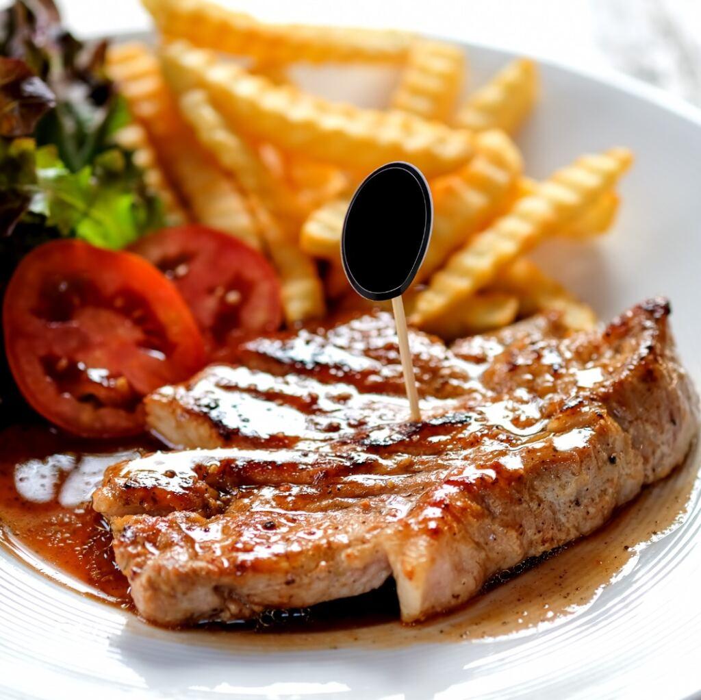 Grilled Pork Loin Steaks