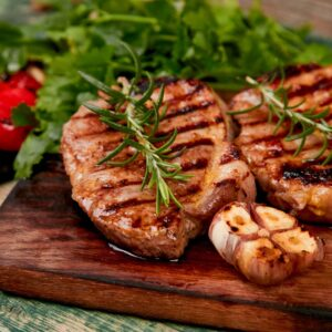Marinated Pork Steaks