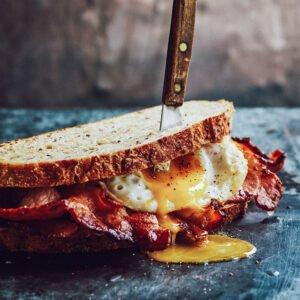 Smoked Back Bacon sandwich