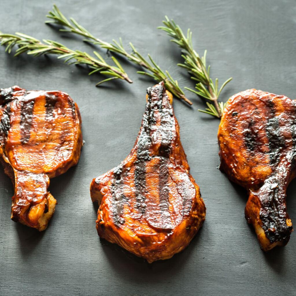 pork tomahawk steaks