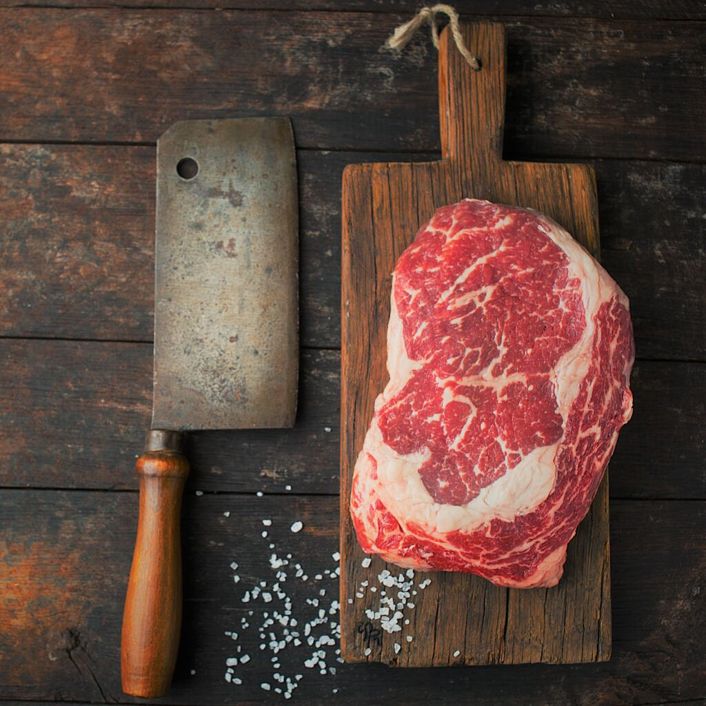 A Full RibEye Roast 2-3Kg, Cut Your Juicy Grass-Fed, Thick Steaks At Home 🐂 1