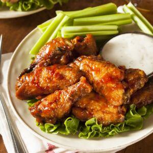 Meaty Chicken Wings