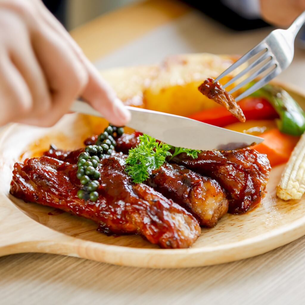 pork shoulder ribs