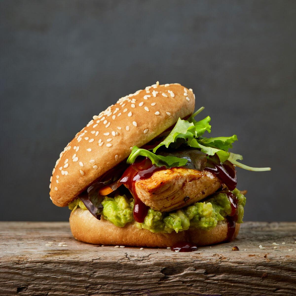 Grilled Chicken Fillet Burger