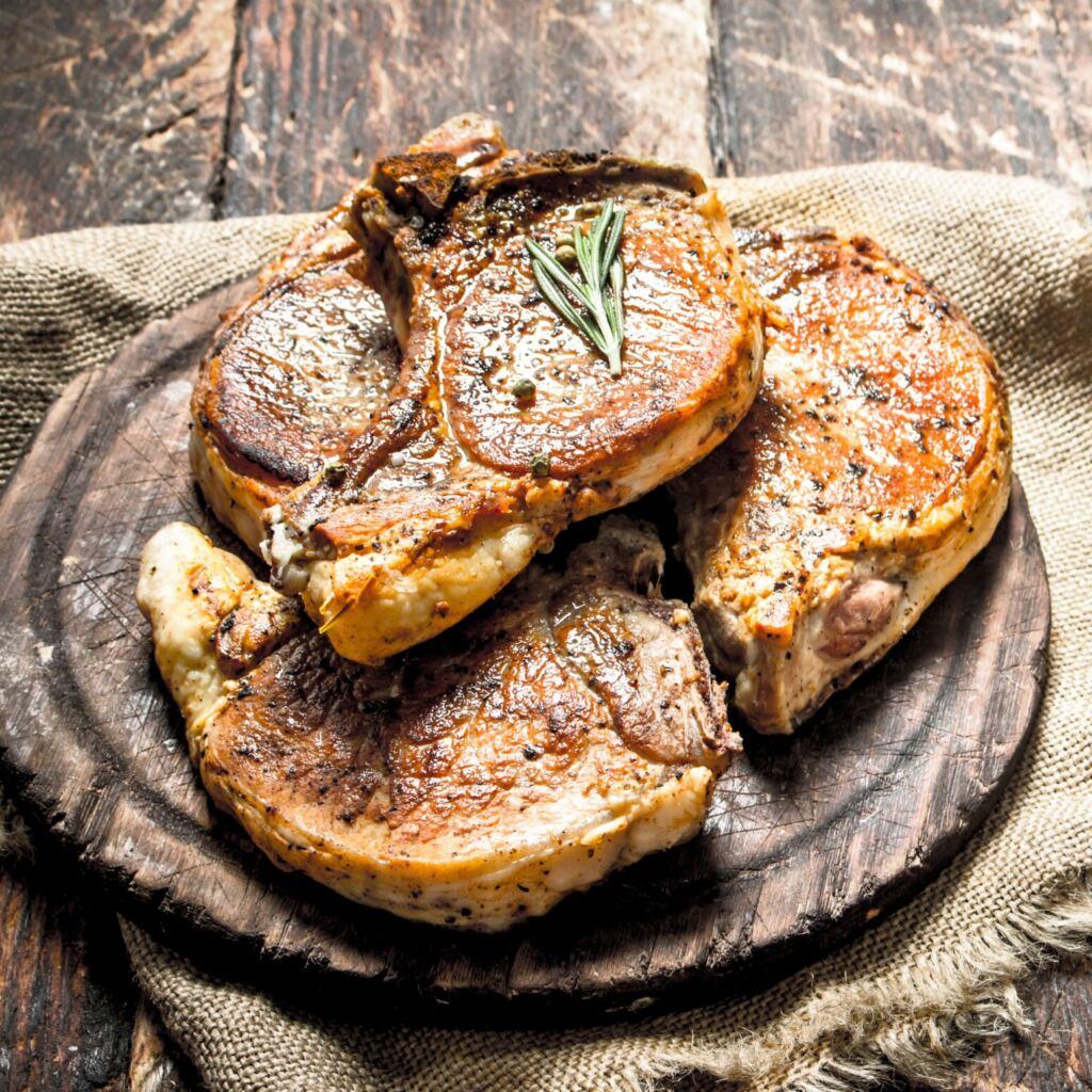 Pork T Bone Steaks