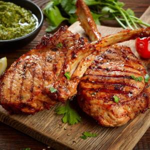 Pork Tomahawk Steak