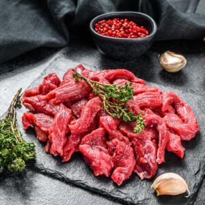 Beef Steak Strips