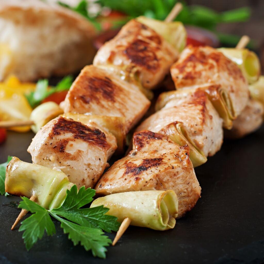 Meaty Chicken Skewers