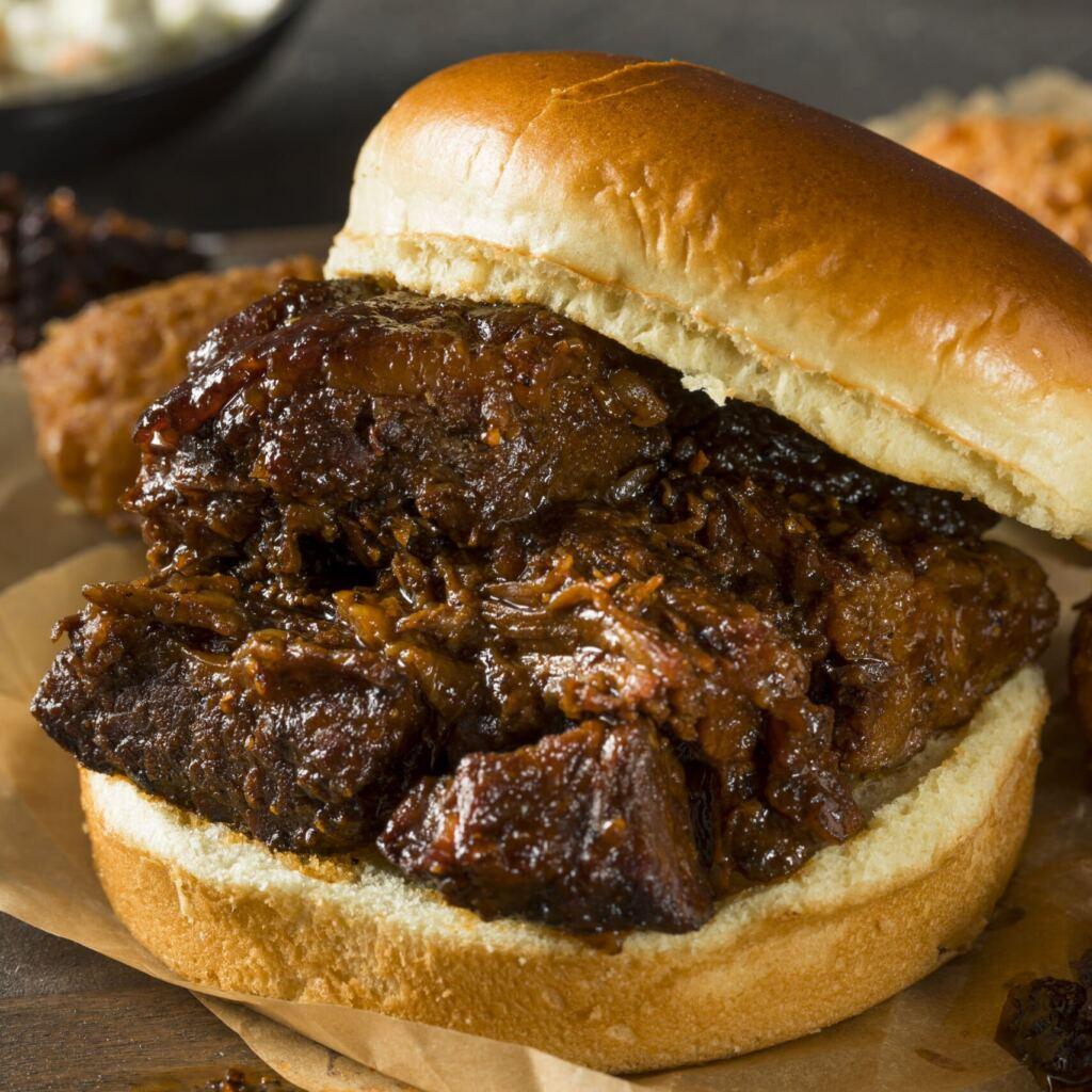 Beef Brisket Burnt ends