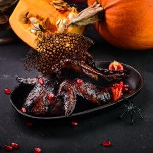 Halloween Chicken Wings